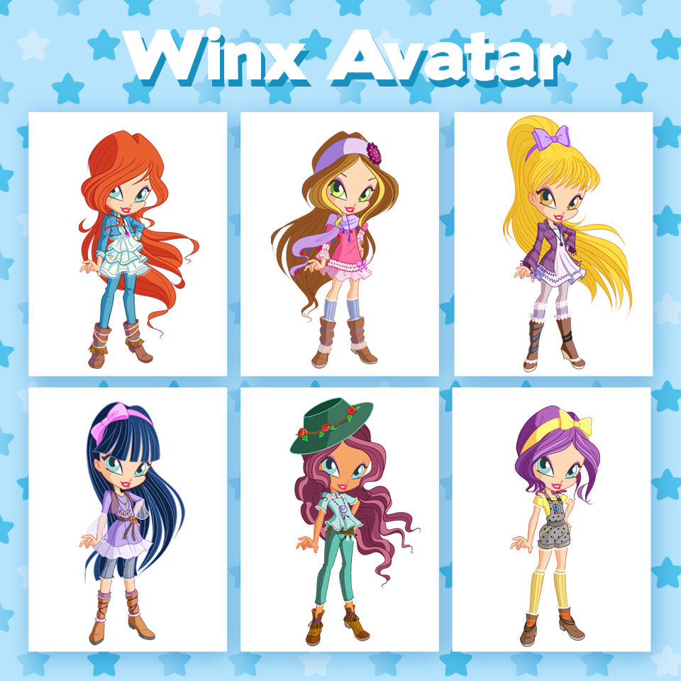 Here are the new season 8 outfits for your Winx Avatar! | Winx Club