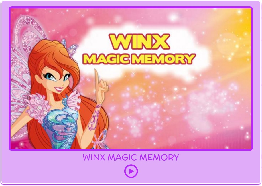 Discover the new website minigames! | Winx Club