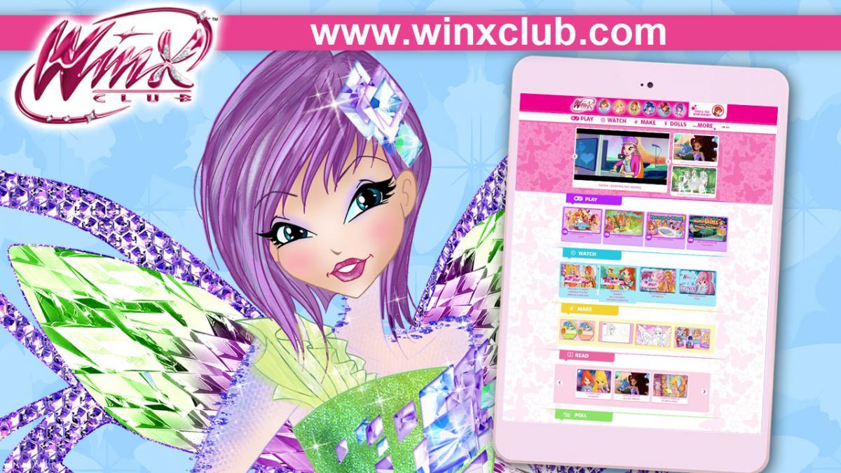 WinxClub com is all NEW! | Winx Club