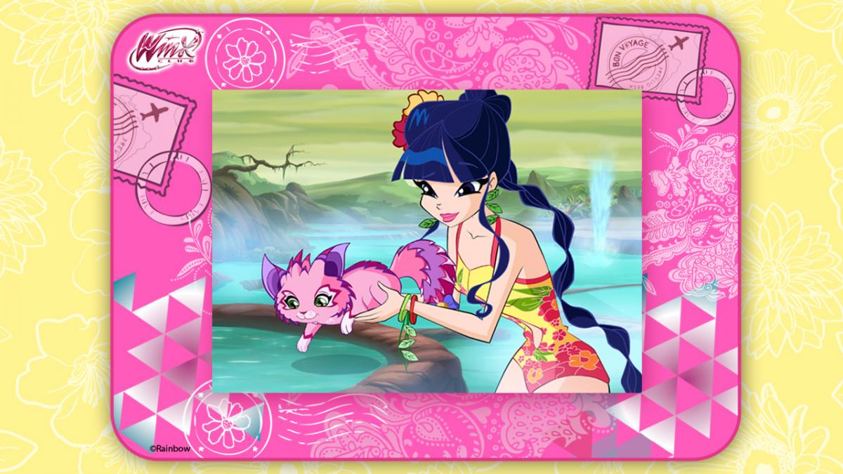 downloadable frames for your holidays magical pictures winx club