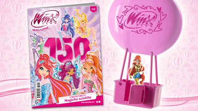 Winx magic travel la magia è in edicola club