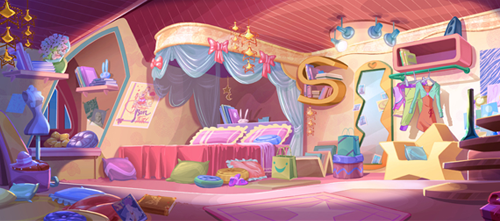 Chambre Fille Winx Club : Stella une chambre spéciale ème partie winx club