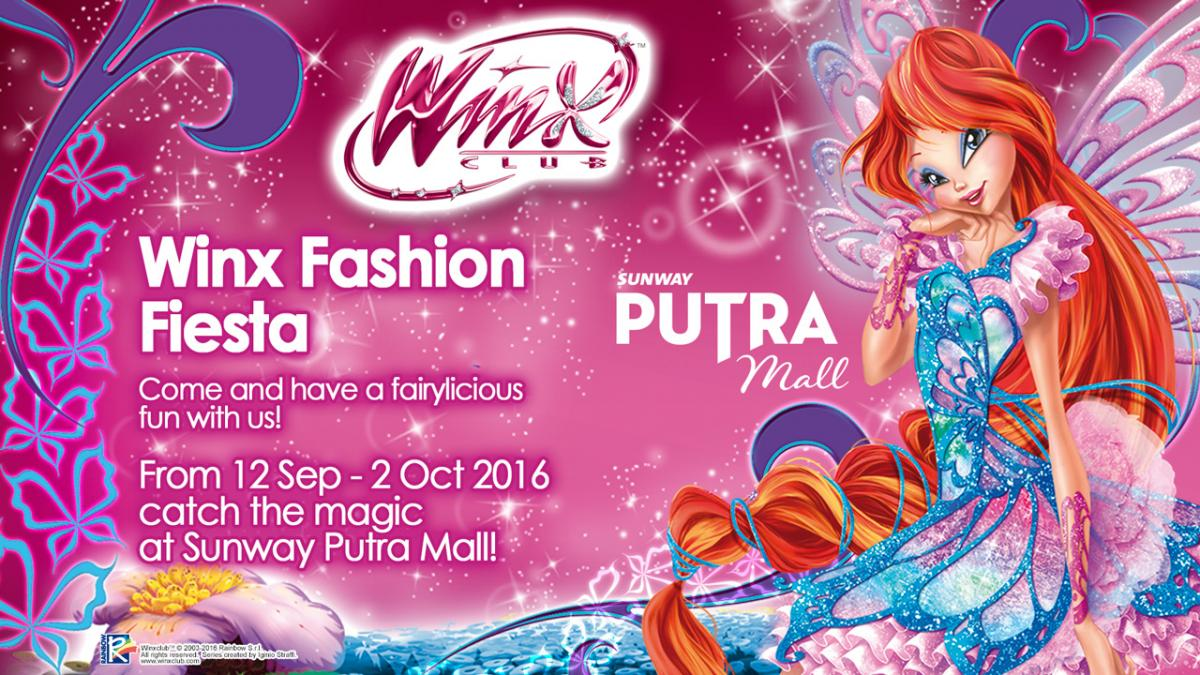 Don't miss the Winx event at Sunway Putra Mall! | Winx Club