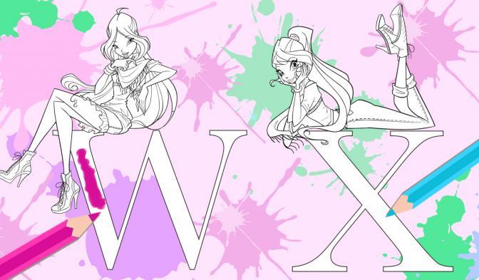 Winx Alphabet