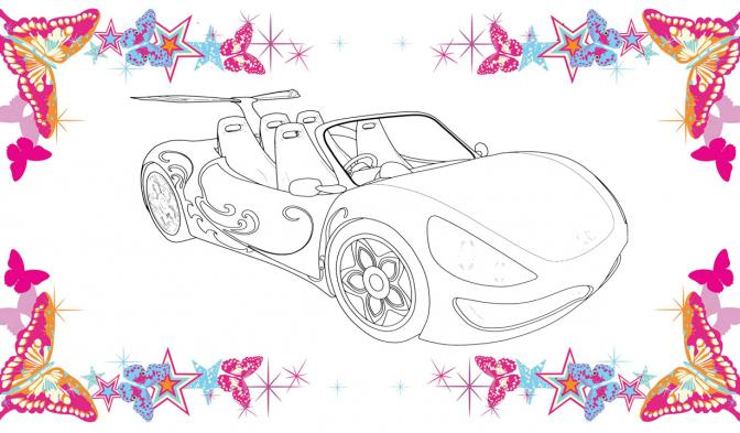 Bloomino kouzelné auto