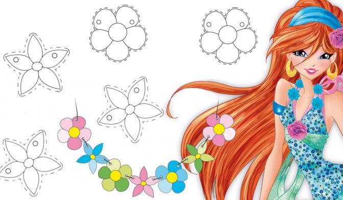 Collana di fiori