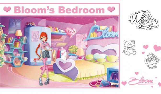 Color Bloom's Bedroom