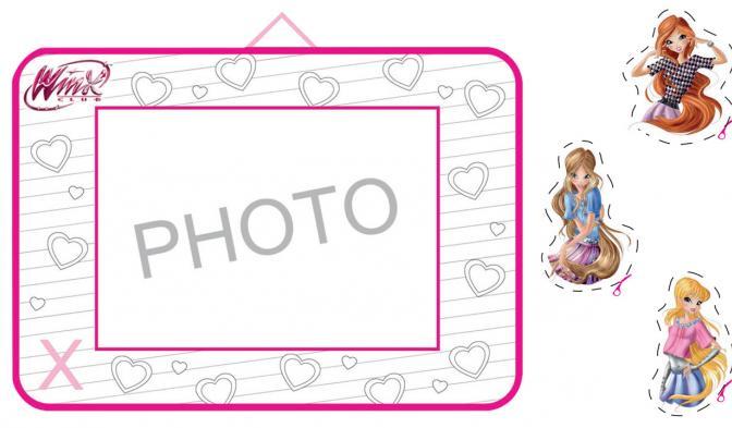 La cornice delle Winx per le tue foto fatalose!