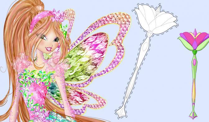 La bacchetta magica di Flora