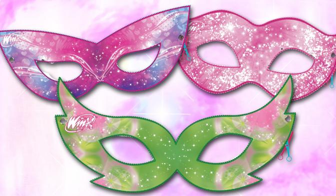Winx masks