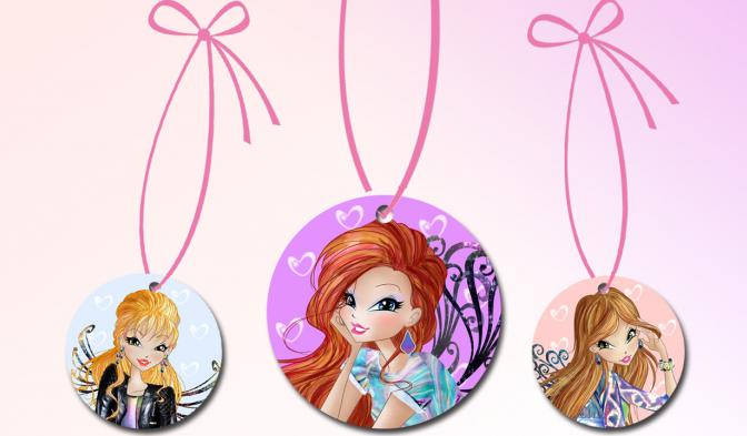 Winx Style Fashion Necklaces