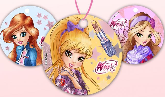 Winx Selfie Magic pendants
