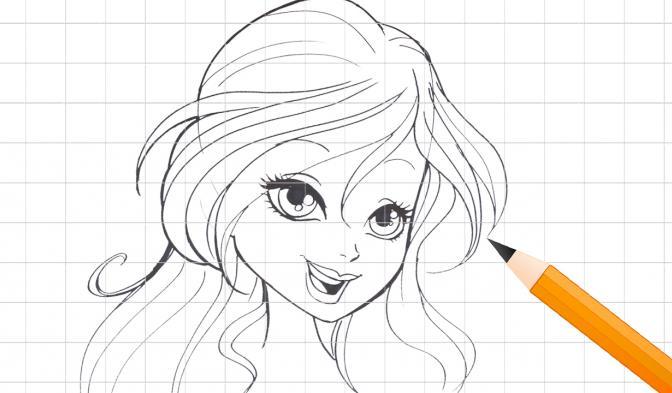 Bloom karakterinin çizimi