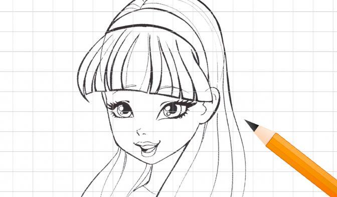 Apprenez à dessiner Musa