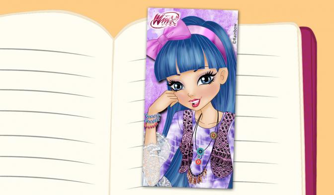 Musa Series 8 bookmark
