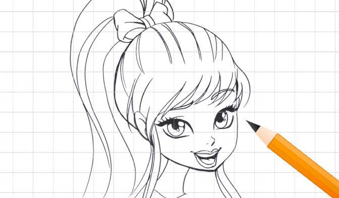 Stella Karakterinin Çizimi