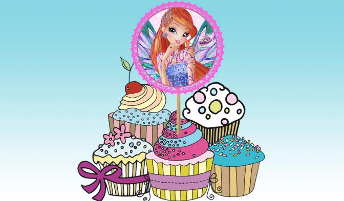 Dreamix Cupcake Decorations