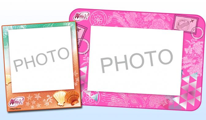 Winx Club magical frames
