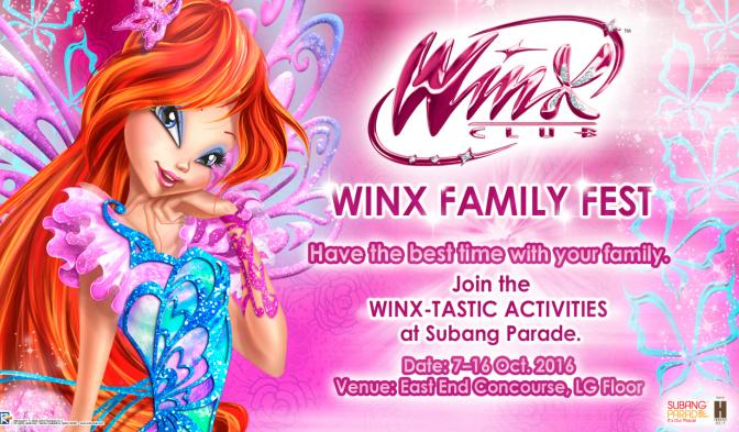 Winx Family Fest at Subang Parade!
