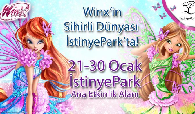 Winx İstinye Park'ta!
