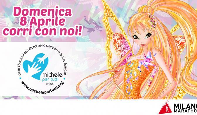 Le Winx alla Milano Marathon!