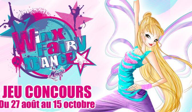 Jeu Concours Winx Fairy Dance