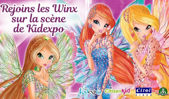 Rejoins les Winx sur la scène de Kidexpo 2018 !