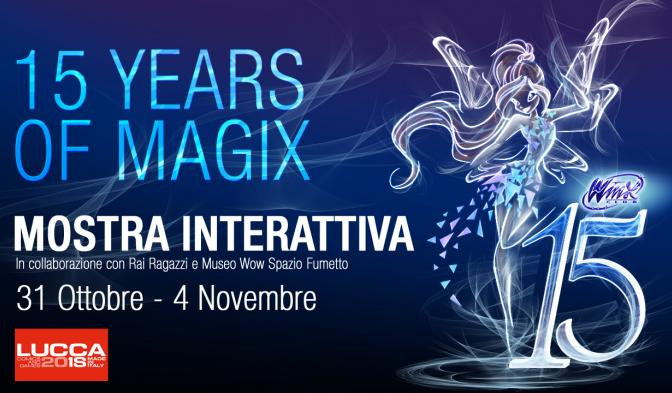 Winx Club a Lucca Comics and Games 2018