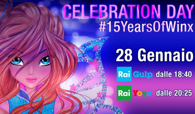 Festeggiate il Winx Celebration Day con una speciale maratona TV
