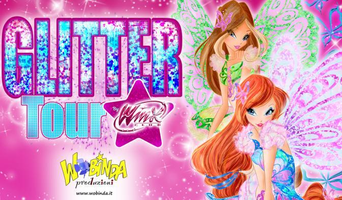 L'estate è scintillante con il Glitter Tour del Winx Club!