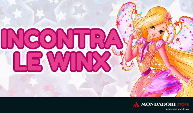 Magici appuntamenti con il Winx Club nei Mondadori Store