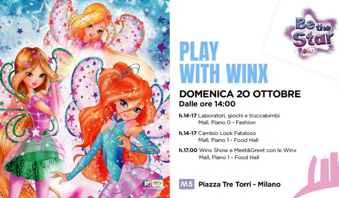 Winx Club al CityLife Shopping District di Milano