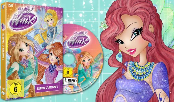 Endlich ist auch World of Winx Staffel 2 Volume 1 auf DVD erhältlich.