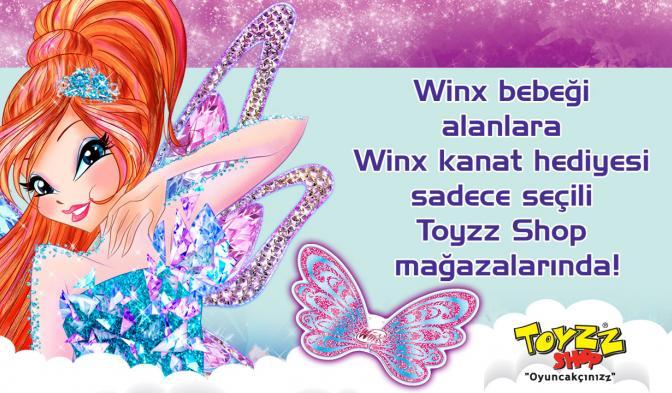 23 Nisan'a Özel Sihirli Kanat Hediyen Toyzz Shop Mağazalarında!