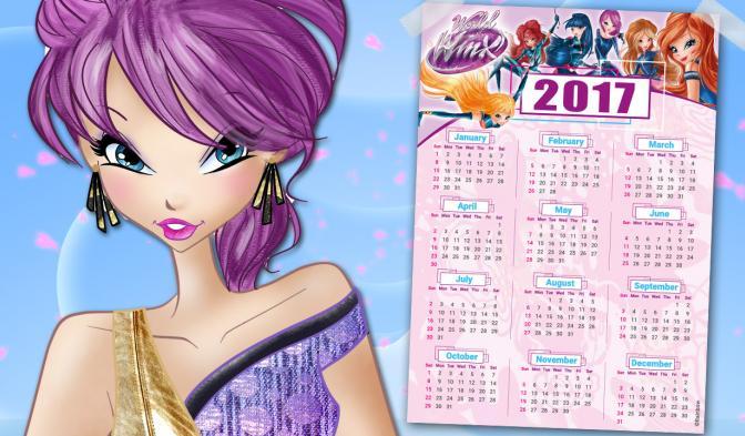 2017 new calendar!!!