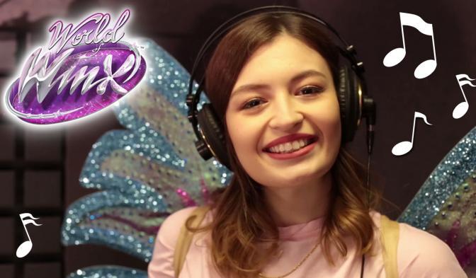Winx Dünyası'nın açılış şarkısını seslendiren sihirli şarkıcı Meryem Can!