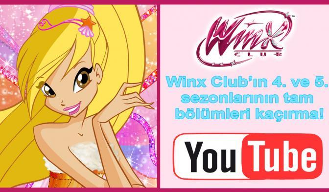 Winx Club'ın 4. ve 5. sezonlarının tam bölümleri kaçırma!