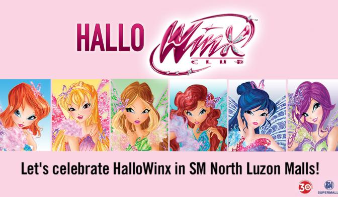 Let's celebrate HalloWinx in SM North Luzon Malls!