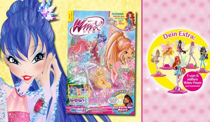 Das neue Winx Club Magazin #04/18 ist da!