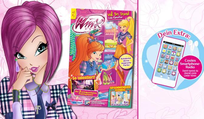 Das neue Winx Club Magazin #6/18 ist da!