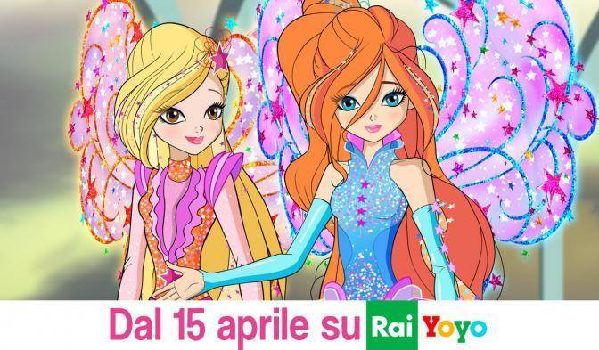 La serie 8 di Winx Club in onda su Rai Yoyo dal 15 aprile