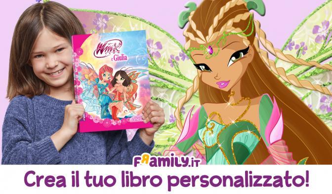 Create il vostro libro personalizzato Winx!
