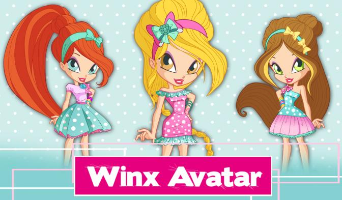 Winx Avatar: novos look  do World of Winx!