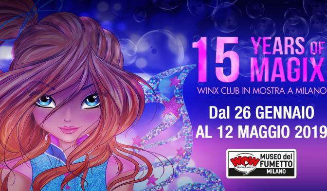 Winx Club in mostra al WOW Spazio Fumetto