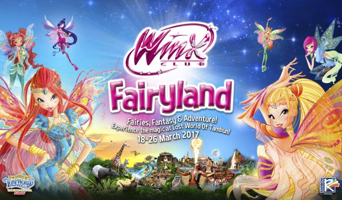 Enjoy the magic of Winx Club at Lost World Of Tambun!