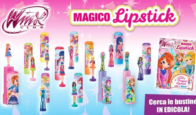 I Magici Lipstick delle Winx sono in edicola!