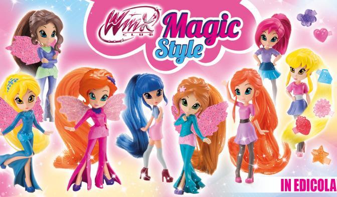 Le Winx Magic Style vi aspettano in edicola!