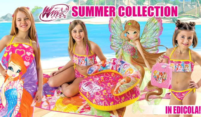 Scoprite la Winx Summer Collection in edicola!