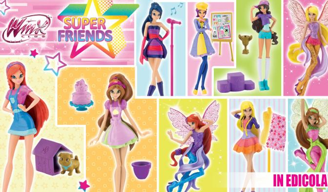 Le Winx Super Friends vi aspettano in edicola!