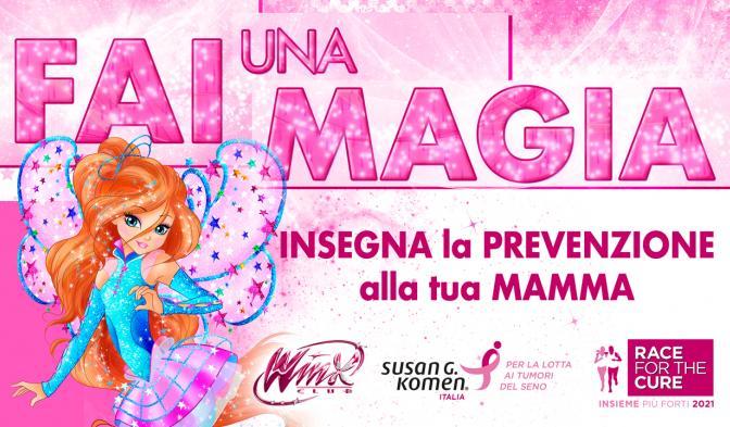 Fate una magia e insegnate la prevenzione alle vostre mamme!